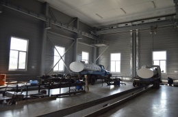 Milk-powder production hall