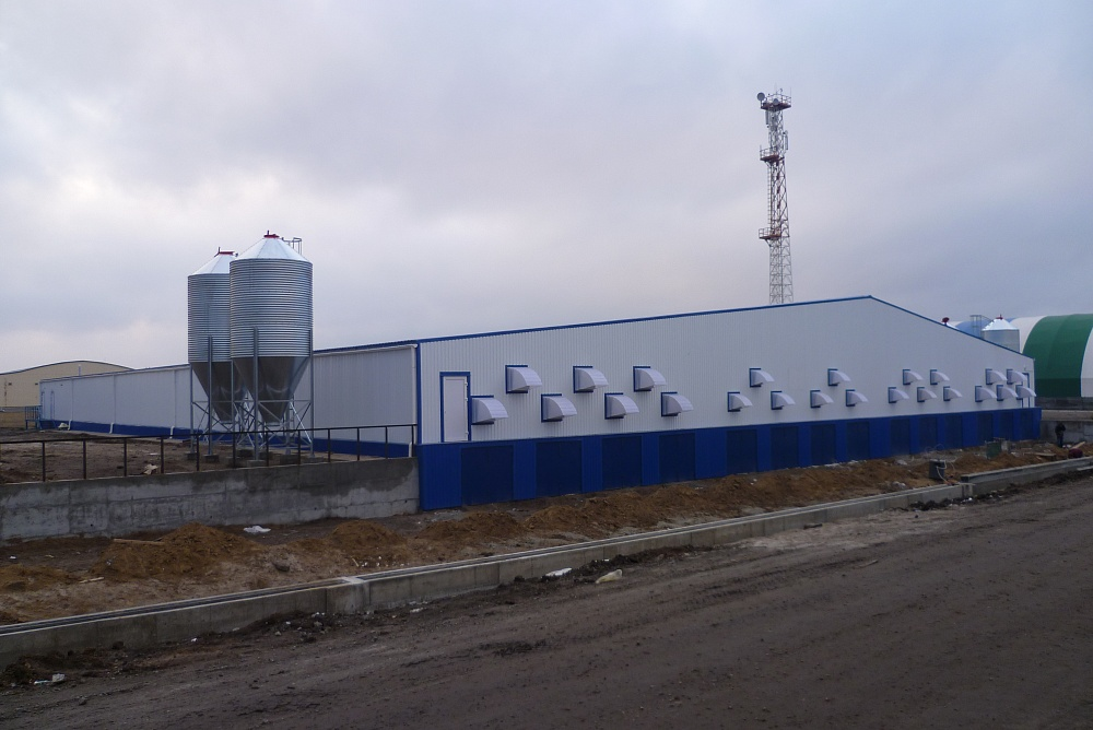 Accessory building of agricultural holding